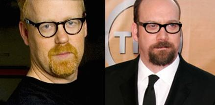 Paul Giamatti and Adam Savage